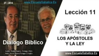 Dialogo Bíblico | Jueves 12 de junio 2014 | Judas y la Ley | Escuela Sabática 2014