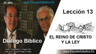 Dialogo Bíblico | Jueves 26 de junio 2014 | La Ley en el Reino | Escuela Sabática