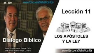 Dialogo Bíblico | Martes 10 de junio 2014 | Juan y la Ley | Escuela Sabática 2014