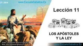 Lección 11 | Miércoles 11 de junio 2014 | Santiago y la Ley | Escuela Sabática 2014