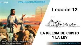 Lección 12 | Viernes 20 de junio 2014 | Para estudiar y meditar | Escuela Sabática
