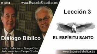 Dialogo Bíblico | Lunes 14 de julio 2014 | El Espíritu Santo es una persona | Escuela Sabática