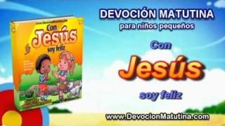 Miércoles 16 de julio | Devoción Matutina para niños Pequeños 2014 | Puedo confiar en Jesús