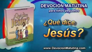 Sábado 19 de julio   Devoción Matutina para niños Pequeños 2014   No podemos ver a Dios ahora
