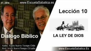 Dialogo Bíblico   Domingo 31 de agosto 2014   Jesús no cambió La Ley   Escuela Sabática