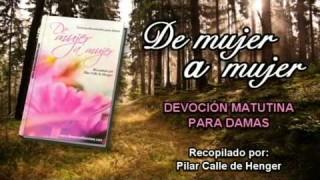 Martes 5 de agosto | Devoción Matutina para Mujeres 2014 | Ahora entiendo el amor de Dios