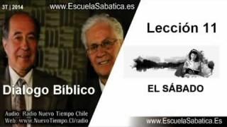 Dialogo Bíblico   Jueves 11 de septiembre 2014   El Sábado después de la resurrección   E. Sabática