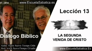 Dialogo Bíblico   Miércoles 24 de septiembre 2014   ¿Cuándo vendrá Jesús?   Escuela Sabática