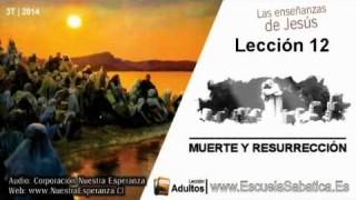 Lección 12 | Lunes 15 de septiembre 2014 | La esperanza de la resurrección | E. Sabática