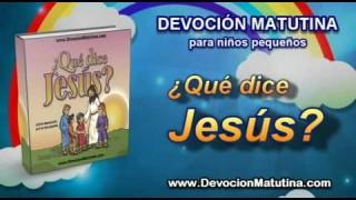 Video   Domingo 21 de septiembre   Devoción Matutina para niños Pequeños 2014   Entrega este mensaje