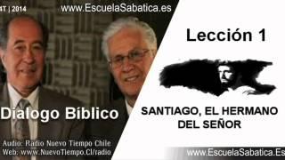 Dialogo Bíblico | Jueves 2 de octubre 2014 | Santiago y Jesús | Escuela Sabática
