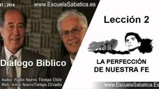 Resumen Dialogo Bíblico | Lección 2 | La perfección de nuestra fe | Escuela Sabática