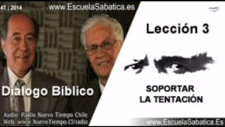Resumen Dialogo Bíblico | Lección 3 | Soportar la tentación | Escuela Sabática