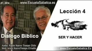 Resumen Dialogo Bíblico | Lección 4 | Ser y Hacer | Escuela Sabática