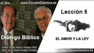 Resumen Dialogo Bíblico | Lección 5 | El amor y la Ley | Escuela Sabática