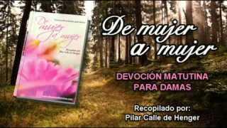 Video   Jueves 16 de octubre   Devoción Matutina para Mujeres 2014   Vivir sin temor del mal
