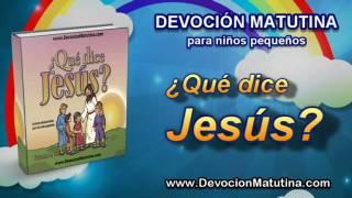 Video | Lunes 6 de octubre  | Devoción Matutina para niños Pequeños 2014 | Jesús habla del plan de Dios