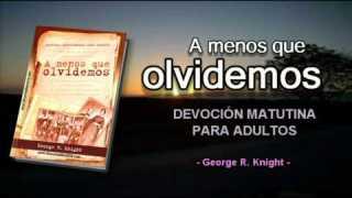 Viernes 31 de octubre | Devoción Matutina para Adultos 2014 | Evangelizar mediante la educación