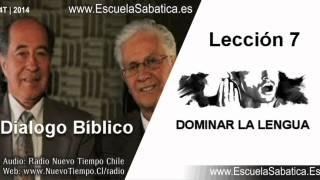 Dialogo Bíblico   Miércoles 12 de noviembre 2014   Controlar el daño   Escuela Sabática