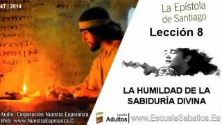 Lección 8 | Viernes 21 de noviembre 2014 | Para estudiar y meditar | Escuela Sabática