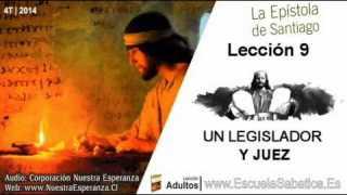 Lección 9 | Lunes 24 de noviembre 2014 | El Legislador es Juez | Escuela Sabática