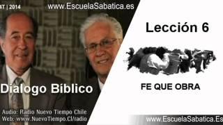 Resumen Dialogo Bíblico | Lección 6 | Fe que obra | Escuela Sabática