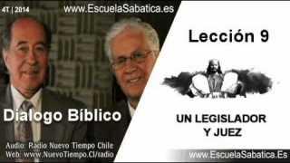 Resumen Dialogo Bíblico | Lección 9 | Un Legislador y Juez | Escuela Sabática