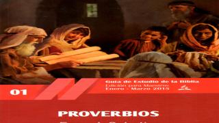 Pdf | Lección 1 | El llamado de la sabiduría | Escuela Sabática 2015 | Proverbios | Primer trimestre 2015