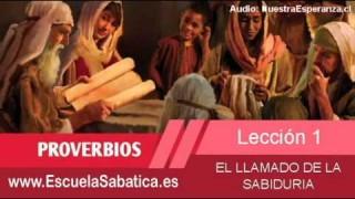 Lección 1 | Domingo 28 de diciembre 2014 | El principio de la sabiduría | Escuela Sabática 2015