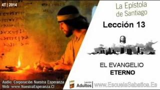 Lección 13 | Lunes 22 de diciembre 2014 | El evangelio encarnado | Escuela Sabática