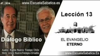 Resumen Semanal | Dialogo Bíblico | Lección 13 | El evangelio eterno | Escuela Sabática