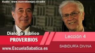 Resumen | Dialogo Bíblico | Lección 4 | Sabiduría divina | Escuela Sabática