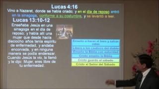 Lección 5   Cristo es Señor del sábado   Escuela Sabática 2000