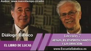Resumen | Diálogo Bíblico | Lección 7 | Jesús, el Espíritu Santo y la Oración | Escuela Sabática