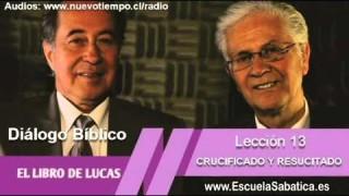 Resumen | Diálogo Bíblico | Lección 13 | Crucificado y Resucitado | Escuela Sabática