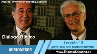 Diálogo Bíblico   Domingo 20 de septiembre   No hay otro nombre bajo el cielo   Escuela Sabática