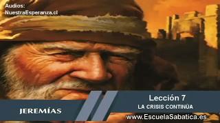 Lección 7 | Jueves 12 de noviembre 2015 | Jeremías escapa | Escuela Sabática