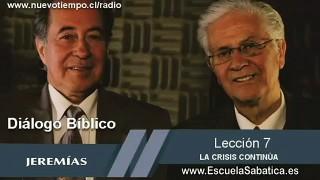 Resumen | Diálogo Bíblico | Lección 7 | La crisis continúa | Escuela Sabática