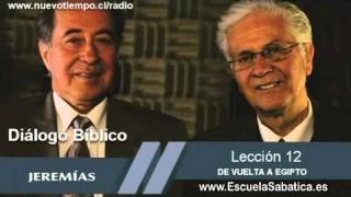 Resumen | Diálogo Bíblico | Lección 12 | De vuelta a Egipto | Escuela Sabática