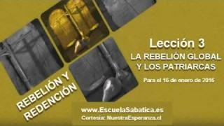 Lección 3   Domingo 10 de enero 2016   Caín y Abel   Escuela Sabática