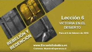 Lección 6   Domingo 31 de enero 2016   Emanuel al rescate   Escuela Sabática 2016