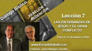 Resumen | Diálogo Bíblico | Lección 7 | Las enseñanzas de Jesús y el gran conflicto | Esc. Sabática