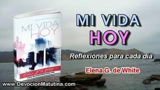 23 de marzo | Mi vida Hoy | Elena G. de White | No mirare la injusticia
