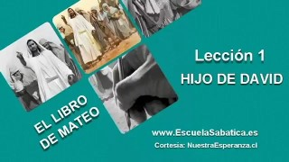 Lección 1   Martes 29 de marzo 2016   El árbol genealógico temprano de Jesús   Escuela Sabática