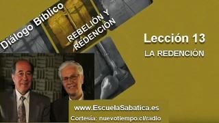 Resumen | Diálogo Bíblico | Lección 13 | La redención | Escuela Sabática