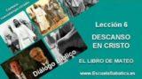 Diálogo Bíblico | Lunes 2 de mayo 2016 | Inquietud sobre un día de quietud | Escuela Sabática