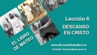 Lección 6   Jueves 5 de mayo 2016   Observancia del Sábado   Escuela Sabática