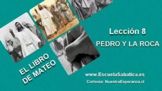 """Lección 8   Domingo 15 de mayo 2016   """"Tú eres el Cristo""""   Escuela Sabática"""