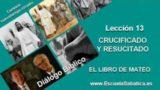 Diálogo Bíblico   Lunes 20 de junio 2016   Nuestro sustituto crucificado   Escuela Sabática