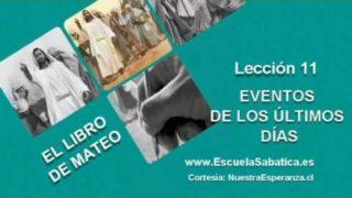 Lección 11 | Viernes 10 de junio 2016 | Para estudiar y meditar | Escuela Sabática